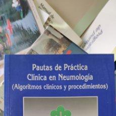 Libros: PAUTAS DE PRÁCTICA CLÍNICA EN NEUMOLOGÍA. Lote 275678053