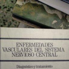 Libros: ENFERMEDADES VASCULARES DEL SISTEMA NERVIOSO CENTRAL ( DOYMA). Lote 275865608