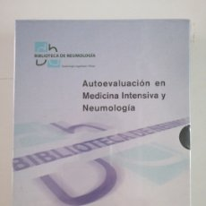 Libros: AUTOEVALUACION EN MEDICINA INTENSIVA Y NEUMOLOGIA.. Lote 278950773