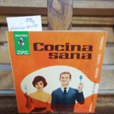 Libros: PLISNIER EMILE. COCINA SANA.VERSION DE A. Y B. ANTON.. Lote 286290093