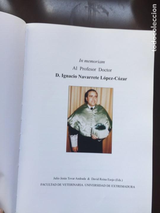 Libros: IN MEMORIAM .PROF.IGNACIO NAVARRETE LÓPEZ-CÓZAR.FACULTAD DE VETERINARIA.CÁCERES - Foto 2 - 289470958