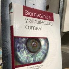 Livros: 2014 BIOMECÁNICA Y ARQUITECTURA CORNEAL - ELSEVIER - M ANGELES DEL BUEY Y CRISTINA PERIS. Lote 290674118