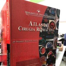 Libros: ATLAS DE CIRUGÍA REFRACTIVA. Lote 293579523