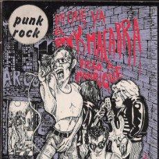 Libros: DE QUÉ VA EL ROCK MACARRA (PUNK ROCK), POR DIEGO A. MANRIQUE (EDS. LA PIQUETA, 1977). Lote 57361865