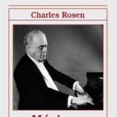 Libros: MÚSICA Y SENTIMIENTO - CHARLES ROSEN. Lote 258852915