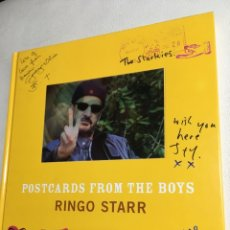 Libros: RINGO STARR - POSTCARDS FROM THE BOYS- BEATLES. Lote 89527883