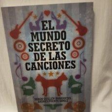 Libros: EL MUNDO SECRETO DE LAS CANCIONES . Lote 96526739