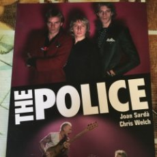 Libros: THE POLICE-JOAN SARDA CHRIS WELCH-2007-NUEVO. Lote 99356026