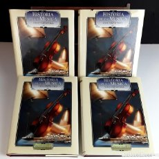 Libros: HISTORIA DE LA MÚSICA Y SUS COMPOSITORES. 4 TOMOS. G. PÉREZ . EDIT. EUROLIBER. 1993.. Lote 100491287