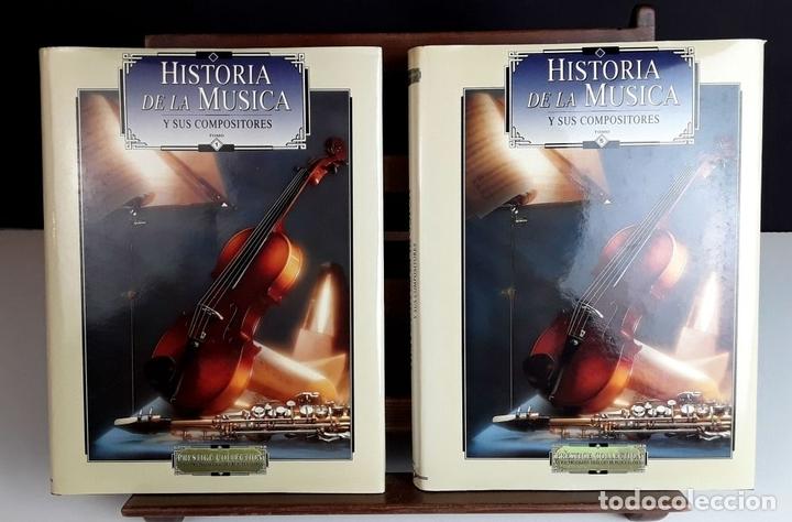 Libros: HISTORIA DE LA MÚSICA Y SUS COMPOSITORES. 4 TOMOS. G. PÉREZ . EDIT. EUROLIBER. 1993. - Foto 3 - 100491287