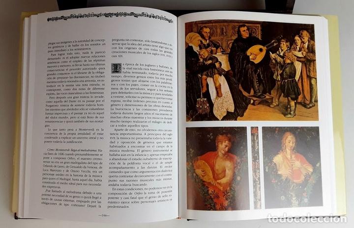 Libros: HISTORIA DE LA MÚSICA Y SUS COMPOSITORES. 4 TOMOS. G. PÉREZ . EDIT. EUROLIBER. 1993. - Foto 5 - 100491287