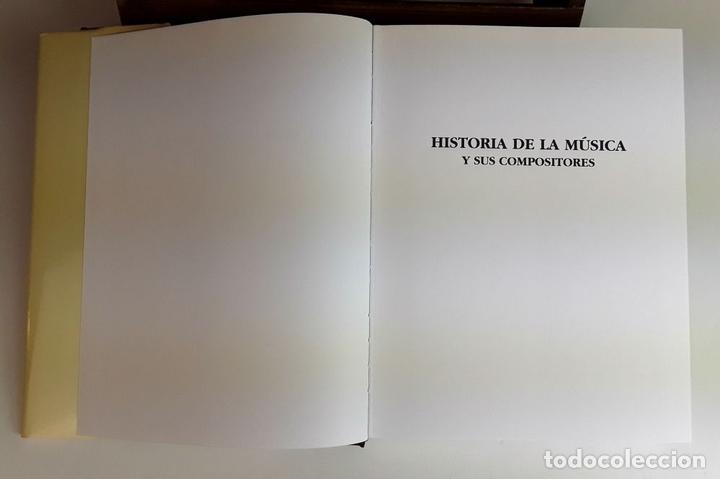 Libros: HISTORIA DE LA MÚSICA Y SUS COMPOSITORES. 4 TOMOS. G. PÉREZ . EDIT. EUROLIBER. 1993. - Foto 7 - 100491287