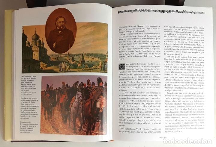 Libros: HISTORIA DE LA MÚSICA Y SUS COMPOSITORES. 4 TOMOS. G. PÉREZ . EDIT. EUROLIBER. 1993. - Foto 8 - 100491287