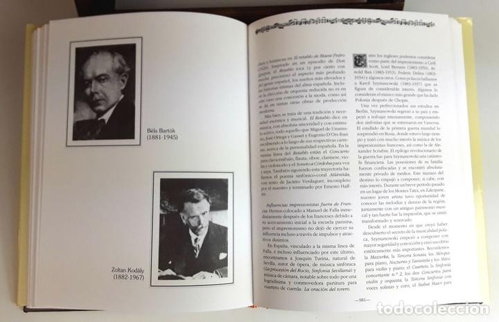 Libros: HISTORIA DE LA MÚSICA Y SUS COMPOSITORES. 4 TOMOS. G. PÉREZ . EDIT. EUROLIBER. 1993. - Foto 9 - 100491287