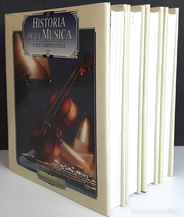 Libros: HISTORIA DE LA MÚSICA Y SUS COMPOSITORES. 4 TOMOS. G. PÉREZ . EDIT. EUROLIBER. 1993. - Foto 11 - 100491287