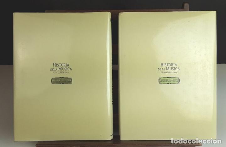 Libros: HISTORIA DE LA MÚSICA Y SUS COMPOSITORES. 4 TOMOS. G. PÉREZ . EDIT. EUROLIBER. 1993. - Foto 12 - 100491287