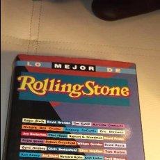 Libros: LO MEJOR DE ROLLING STONE - EDICIONES B - MUY BUEN ESTADO TÍTULO: LO MEJOR DE ROLLING STONE AUTOR: . Lote 103630103