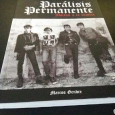 Libros: PARALISIS PERMANENTE- ADICTOS A LA LUJURIA- MARCOS GENDRE-CUARENTENA EDICIONES.2° EDICION.. Lote 112536663