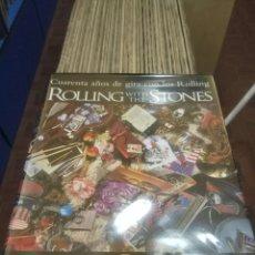 Libros: ROLLING WITH THE STONES - CUARENTA AÑOS DE GIRA CON LOS ROLLING BILL WYMAN. Lote 115461044