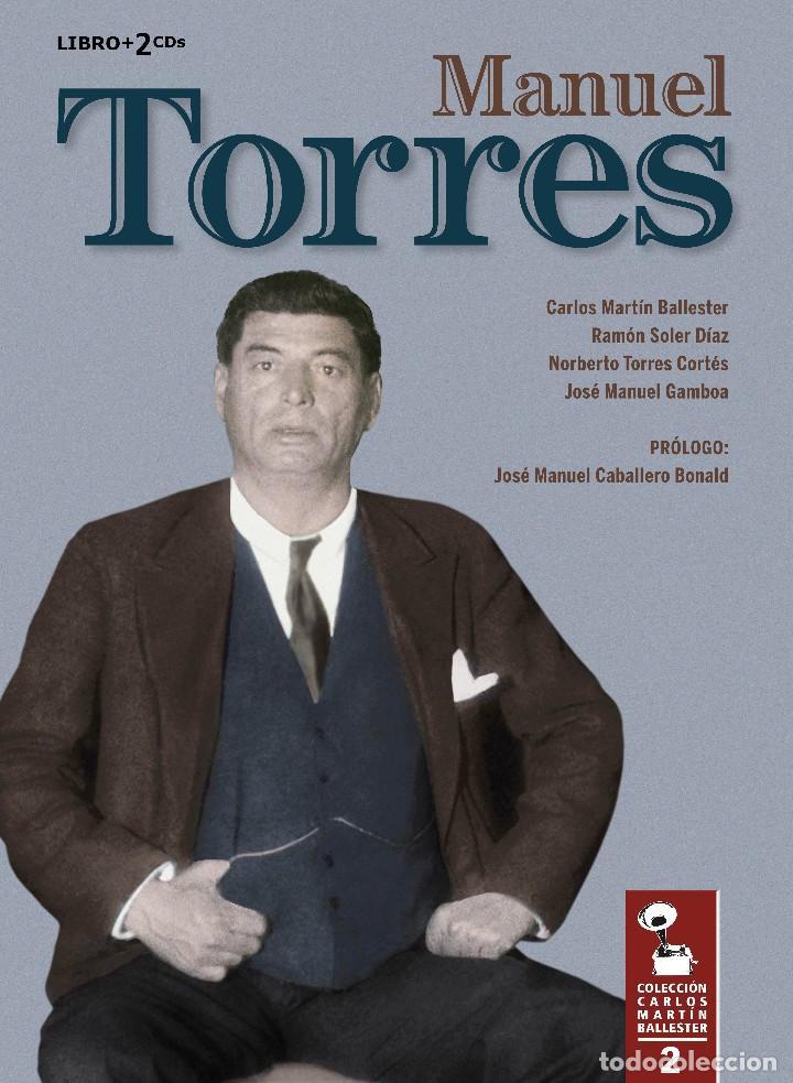 LIBRO-DISCO: MANUEL TORRES, COLECCIÓN CARLOS MARTÍN BALLESTER (Libros Nuevos - Bellas Artes, ocio y coleccionismo - Música)