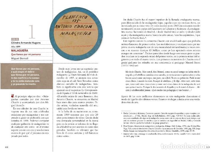 Libros: LIBRO-DISCO: DON ANTONIO CHACÓN, COLECCIÓN CARLOS MARTÍN BALLESTER - Foto 5 - 120432191