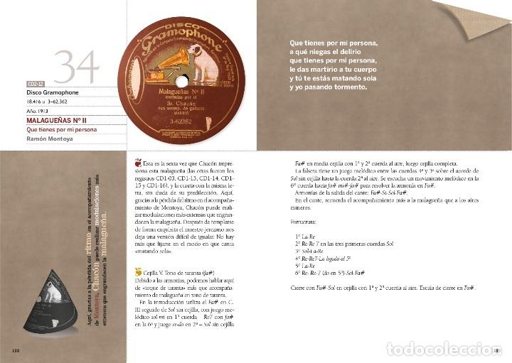 Libros: LIBRO-DISCO: DON ANTONIO CHACÓN, COLECCIÓN CARLOS MARTÍN BALLESTER - Foto 6 - 120432191