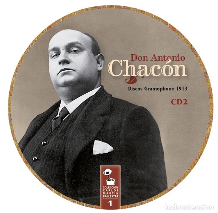 Libros: LIBRO-DISCO: DON ANTONIO CHACÓN, COLECCIÓN CARLOS MARTÍN BALLESTER - Foto 7 - 120432191