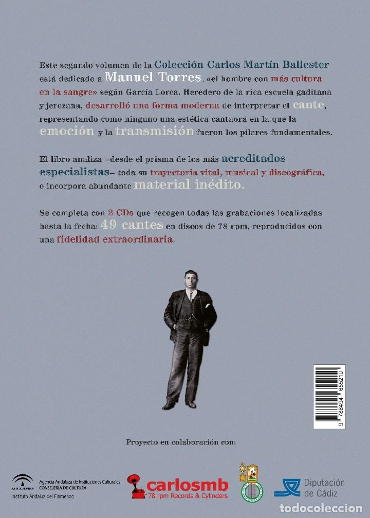 Libros: LIBRO-DISCO: MANUEL TORRES, COLECCIÓN CARLOS MARTÍN BALLESTER - Foto 8 - 120429543