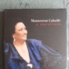 Libros: MONTSERRAT CABALLÉ 40 ANYS AL LICEU / EDI. GRAN TEATRE DEL LICEU / 1ª EDICION 2002 / PRECINTADO. Lote 122090755