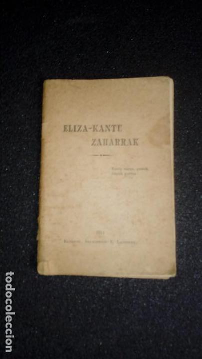 CANCIONERO RELIGIOSO VASCO BAYONA. EUSKERA. (Libros Nuevos - Bellas Artes, ocio y coleccionismo - Música)