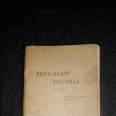 Libros: CANCIONERO RELIGIOSO VASCO BAYONA. EUSKERA.. Lote 125115843