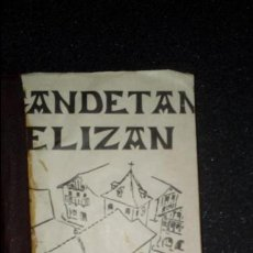 Libros: EUSKERA. CANCIONERO RELIGIOSO EN LATÍN, EUSKERA, FRANCÉS.. Lote 125118483