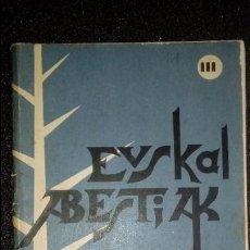 Libros: CANCIONERO VASCO. EUSKERA.. Lote 125128167