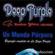 Libros: UN SUEÑO PURPURA DE DEEP PURPLE. Lote 127971123