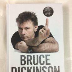 Libros: BRUCE DICKINSON AUTOBIOGRAFIA - IRON MAIDEN PARA QUE SIRVE ESTE BOTON. Lote 133821995