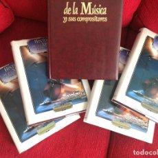 Libros: HISTORIA DE LA MÚSICA Y SUS COMPOSITORES. Lote 134150166