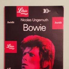 Libros: LIBRIO MUSIQUE BOWIE. Lote 140929180