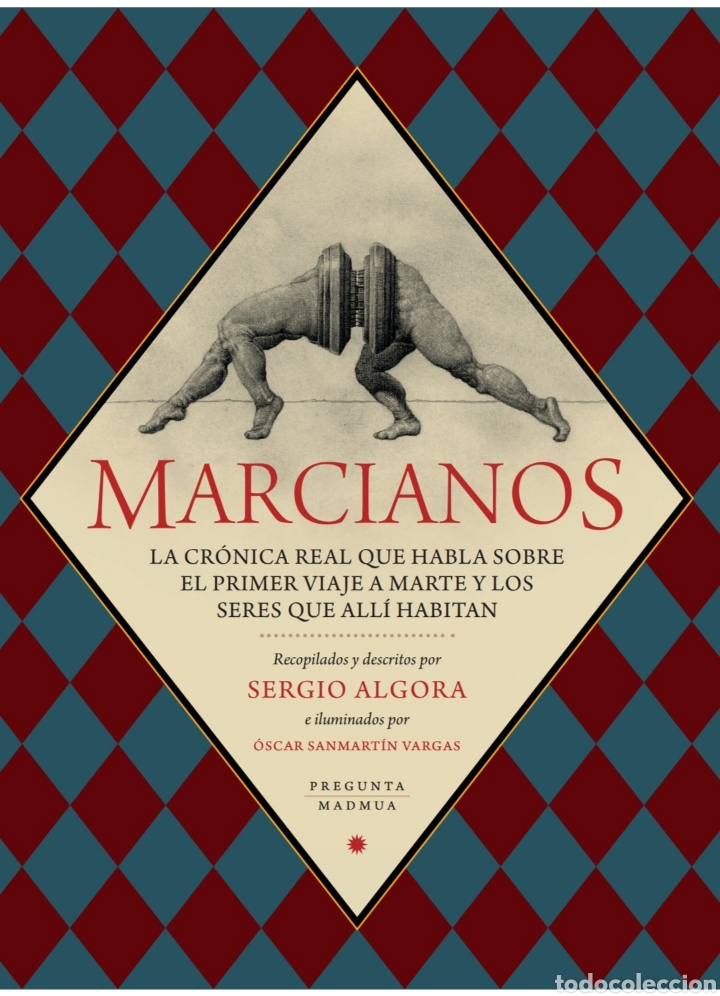 LIBRO 'MARCIANOS'. SERGIO ALGORA Y ÓSCAR SANMARTÍN. PREGUNTA Y MADMUA 2018. NUEVO (Libros Nuevos - Bellas Artes, ocio y coleccionismo - Música)