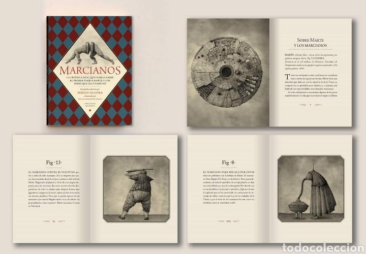 Libros: Libro 'Marcianos'. Sergio Algora y Óscar Sanmartín. Pregunta y Madmua 2018. Nuevo - Foto 2 - 142617488