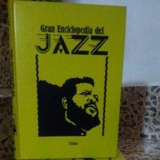 Libros: GRAN ENCICLOPEDIA DEL JAZZ .EDT SARPE 4 TOMOS . . Lote 143588778