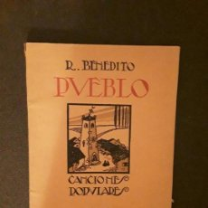 Libros: CANCIONERO POPULAR ESPAÑOL. R. BENEDITO.. Lote 144129306