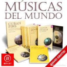 Libros: COLECCIÓN MÚSICAS DEL MUNDO AKAL. 11 LIBROS + CDS - VARIOS AUTORES DESCATALOGADO!!! OFERTA!!!. Lote 146100526