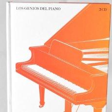 Libros: LOS GENIOS DEL PIANO: ARTHUR RUBISNTEIN. CHOPIN. 2CD. Lote 147387006