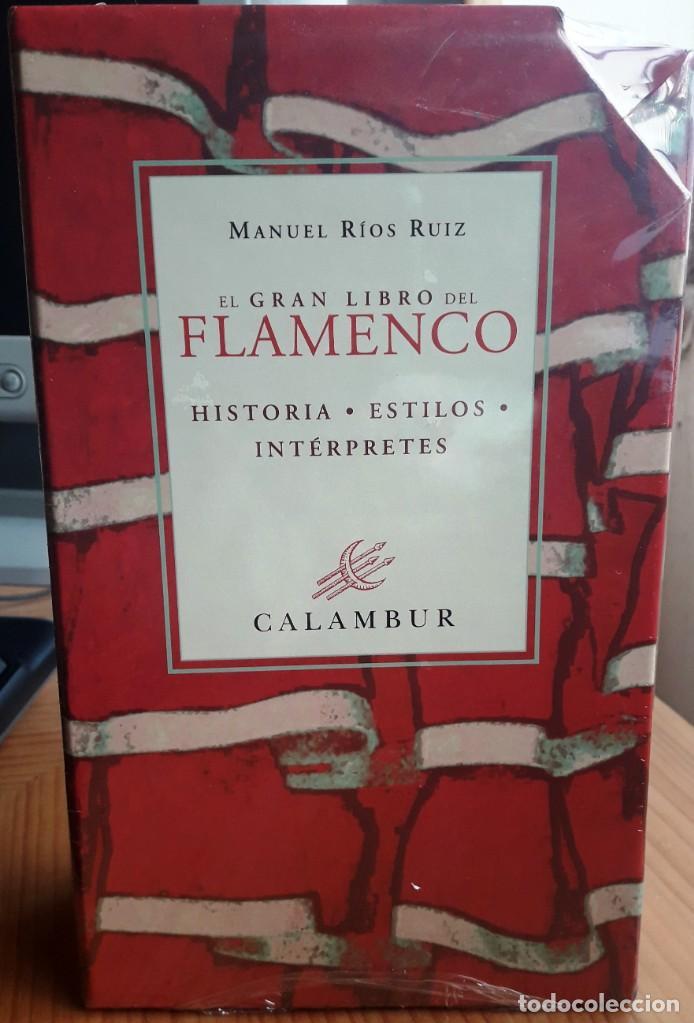 EL GRAN LIBRO DEL FLAMENCO. HISTORIA, ESTILOS, INTÉRPRETES 2 VOLS. (MANUEL RIOS) CALAMBUR 2002 (Libros Nuevos - Bellas Artes, ocio y coleccionismo - Música)