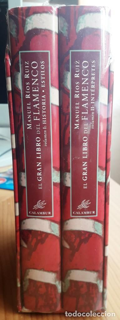Libros: EL GRAN LIBRO DEL FLAMENCO. HISTORIA, ESTILOS, INTÉRPRETES 2 VOLS. (MANUEL RIOS) CALAMBUR 2002 - Foto 2 - 147398298