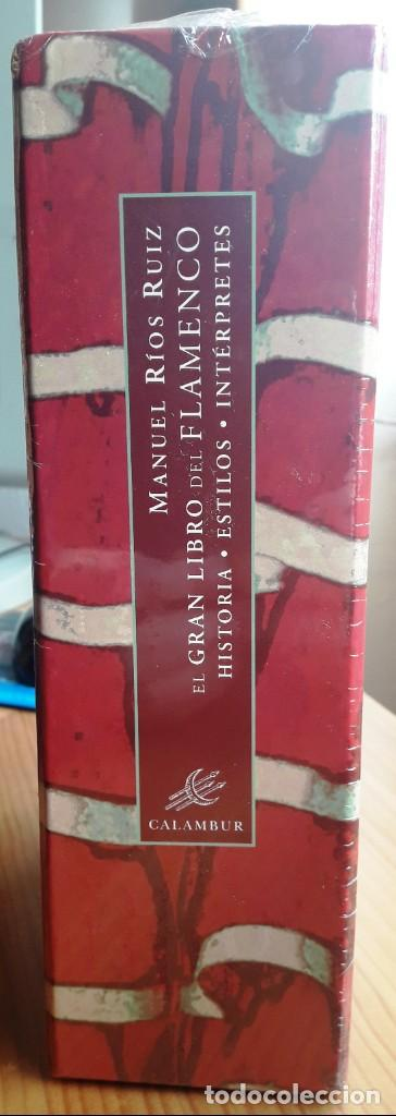 Libros: EL GRAN LIBRO DEL FLAMENCO. HISTORIA, ESTILOS, INTÉRPRETES 2 VOLS. (MANUEL RIOS) CALAMBUR 2002 - Foto 3 - 147398298
