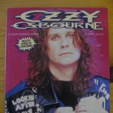 Libros: OZZY OSBOURNE - IMAGENES DEL ROCK - LA MASCARA. Lote 147587142