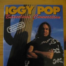 Libros: IGGY POP BARCELONA CONNECTION - IMAGENES DEL ROCK - LA MASCARA. Lote 147587218
