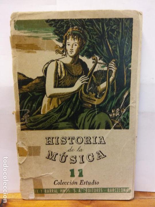 STQ.HISTORIA DE LA MUSICA.EDT, SEIX BARRAL.BRUMART TU LIBRERIA. (Libros Nuevos - Bellas Artes, ocio y coleccionismo - Música)