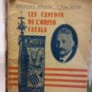 Libros: STQ.LES CANÇOS DE L ´ORFEO CATALA.EDT, BARCELONA.BRUMART TU LIBRERIA.. Lote 159958530